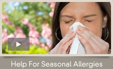 Seasonal Allergies? Help is Here!