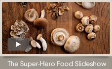 The humble mushroom defies everything scientists thought they knew about super foods. It is colorless, unlike bright blueberries and cherry-red berries. It lacks the green go-light in cruciferous vegetables like broccoli, cabbage and kale.