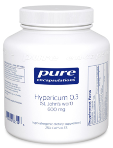 Hypericum 03 St Johns Wort by Pure Encapsulations