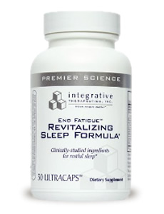 End Fatigue Revitalizing Sleep Formula by Integrative Therapeutics Inc