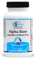 Alpha Base Capsules without Iron by Ortho Molecular